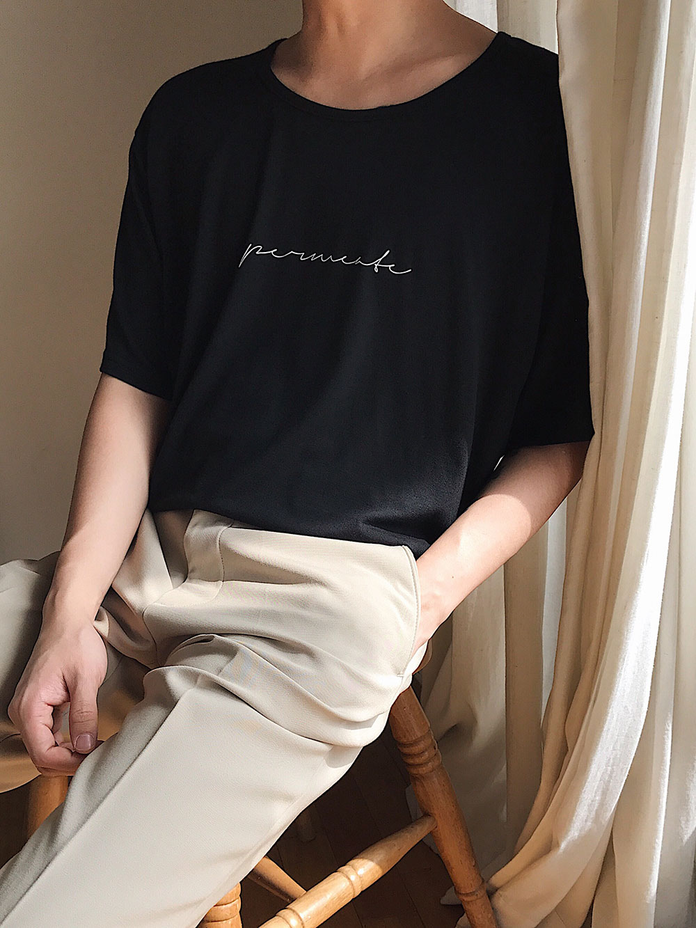 Permeate T-shirt (Black color)